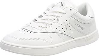 L.A. Gear L39-3650, Montantes Femme - Blanc - Weiß (White/Soft Pink), 37 EU