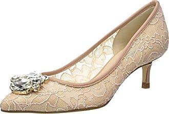 LK Bennett Tatiana, Zapatos de Tacón con Punta Abierta para Mujer, Beige (Trench 257), 41 EU L.k. Bennett