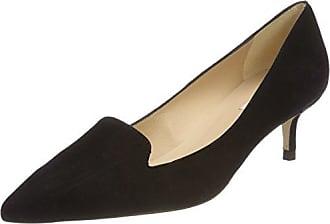 L.K. Bennett AVA, Zapatos de Talón Abierto para Mujer, Negro (Black-Black), 38 EU L.k. Bennett