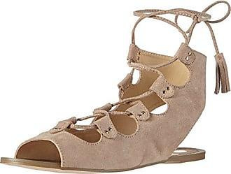 La StradaNatural Suede Leather Look Sandal - Sandali a Punta Aperta Donna, Beige (Beige (2206 - Micro Natural)), 40