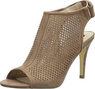 La StradaGold Cracked Leather Look Sandal - Sandali a Punta Aperta Donna, Oro (Gold (1443 - Cracked Gold)), 39