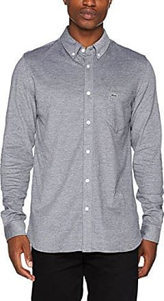 CH9598, Chemise Business Homme, Blanc (Blanc/Blanc), 45 (Taille Fabricant : 45)Lacoste