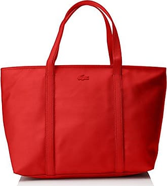Damen Womens Classic Umhängetaschen, Rot (High Risk Red 883), 19.5x30x37 cm Lacoste