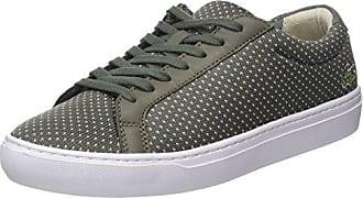 Lacoste L.12.12 Lightweight 118 1 Cam, Sneaker Uomo, Verde (Khk/Nat), 40 EU