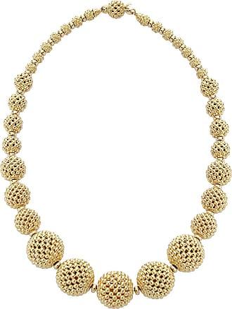 Lagos Graduated Caviar Teardrop Collar Necklace, 18