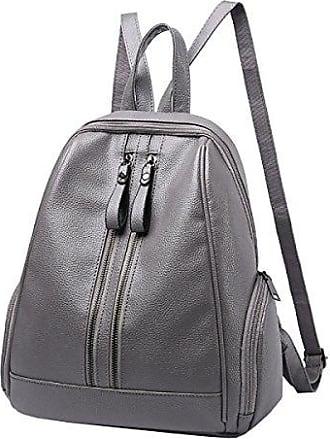 Damen Umhängetasche College Wind Tasche Tasche Umhängetasche Damen Rucksack Reisetasche,Black-OneSize Laidaye