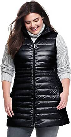 Cheap Low Shipping Fee Womens Plus Lightweight Packable HyperDRY Down Long Gilet - 20-22 - BROWN Lands End Exclusive Cheap Price Discount Get To Buy Discount 100% Original Cheap Online Store Manchester IEBLr