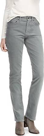 Womens Petite Mid Rise Straight Leg Cord Jeans - 14/16 30 - BLUE Lands End QjFQa