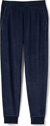 Release Dates Authentic Free Shipping 2018 New Womens Plus Soft Leisure Velour Joggers - 20-22 - BLUE Lands End Fashion Style Cheap Sale The Cheapest YeSXphub