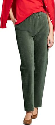 Womens Sport Knit Cords - 10 12 - Green Lands End eX72y