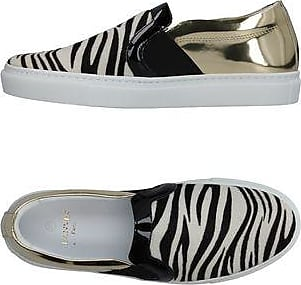 Slip on Sneakers for Women On Sale in Outlet, Zebra-Striped, Leather, 2017, 3.5 4.5 Lanvin
