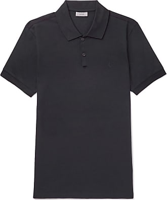 Lanvin Woman Waffle-knit Polo Shirt Black Size L Lanvin Latest Sale Online Outlet Real Outlet Low Price Sast Cheap Online Shop For Cheap Online HUX5J