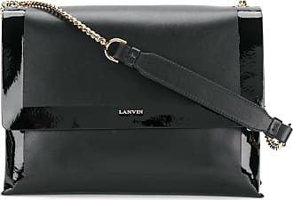 varnished Sugar bag - Black Lanvin KUROpqM5k