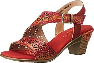 Capitol, Baskets Femme, Rouge (2910 Coral/White 2910 Coral/White), 37 EUKappa