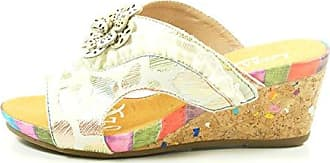 SL140356-27 Benoit 27 Schuhe Damen Keil Sandalen Sandaletten, Schuhgröße:38;Farbe:Rot Laura Vita