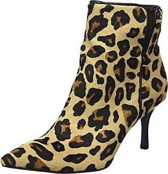 Stiefelette, Zapatillas de Estar Por Casa para Mujer, Beige-Beige (Camel730), 39 EU Laurel