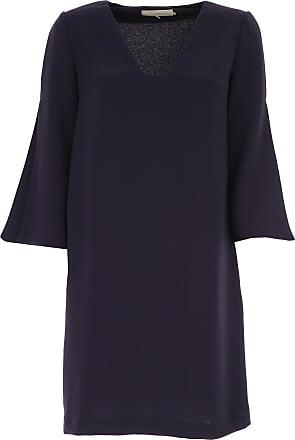 Dress for Women, Evening Cocktail Party On Sale, Sky, Cotton, 2017, 10 12 14 8 L'autre Chose