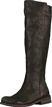 »Leder« High-Heel-Stiefelette, grün, EURO-Größen-EURO-Größen, khaki Lazamani