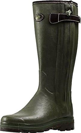Le Chameau Damen-Gummistiefel Vierzonord - Farbe vert chameau. Größe 36. PlecHKF8L