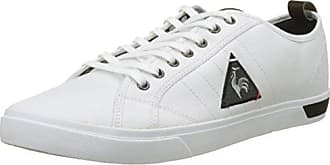 Mens Cernay Leather 2 Tones Trainers, Dark Shadow Le Coq Sportif