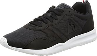 Unisex-Erwachsene LCS R900 Poke Sneakers, Schwarz (Black/Charcoalblack/Charcoal), 42 EU Le Coq Sportif