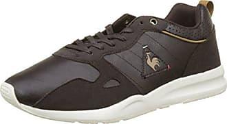 Mens Cernay Leather 2 Tones Trainers, Dark Shadow Le Coq Sportif