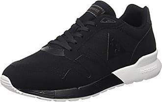 Feret ATL Leather, Baskets Basses Homme, Noir (Black/Cognac), 42 EULe Coq Sportif
