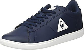 Le COQ Sportif Courtset S Lea, Entrenadores Bajos Unisex Adulto, Azul (Dress Blue/Vintage R), 42 EU