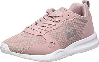 Le COQ Sportif LCS R600 W Metallic Mesh/S Nubuck, Zapatillas para Mujer, Rosa (English Rose/Old SIL Rose), 37 EU