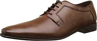 Le Formier TW79102 - Zapatos de Cordones de Otra Piel Hombre, Negro (Negro (Noir 02)), 40 EU