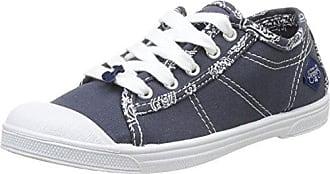 Le Temps des Cerises Basic 03 Basic 03_Gris (Charcoal) - Zapatillas de deporte de tela para mujer, color gris, talla 37