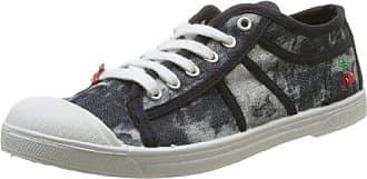 Basic 02 Mono_Gris (Grey) - Zapatillas de tela para mujer, color gris, talla 37 Le Temps Des Cerises
