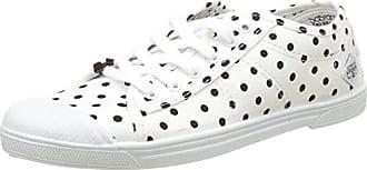 Le Temps Des Cerises Basic 02_Femme, Zapatillas para Mujer, Blanc (Dot White), 39 EU Le Temps Des Cerises