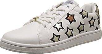 Le Temps Des Cerises - Zapatillas de Deporte de Sintético Mujer, Blanco (Blanco (Star Cooper Star Cooper)), 38 EU Le Temps Des Cerises