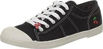 Le Temps des Cerises Basic 02 Mono_Gris (Grey) - Zapatillas de tela para mujer, color gris, talla 37