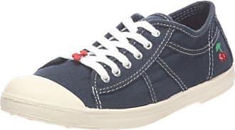 Le Temps des Cerises Basic 3 Mono_Gris (Grey) - Zapatillas de tela para mujer, color gris, talla 37