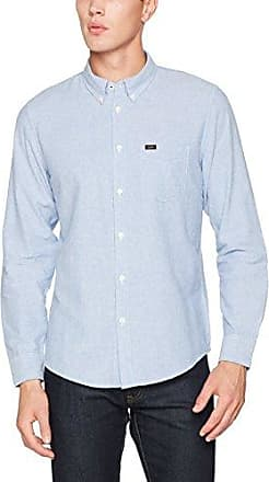 Lee Button Down, Chemise Casual Homme, Blau (summerbreeze DI), 39 (Taille Fabricant: Medium)