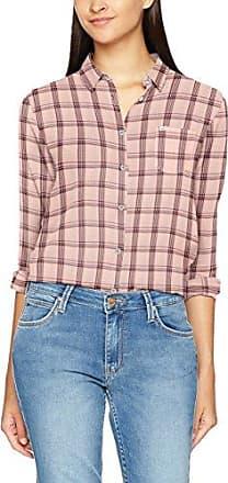Lee Ultimate Shirt, Chemise Femme, (Bleached Denim ES), Large