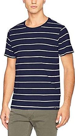 Lee Stripe T, Camiseta para Mujer, Azul (State Blue), Small