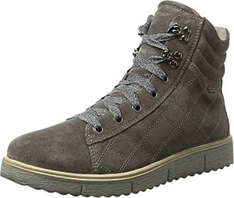 Womens Olbia Hi-Top Trainers, Stone Legero