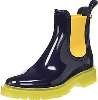 Lemon Jelly Velvety, Chelsea Boots Femme, Argenté (Silver 12), 38 EU