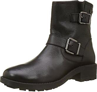Chaussures Biz Bella, Bottes Motard Mujer, Noir (velours Noir), 39 I