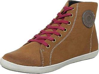 TBS Aurane - Zapatillas de deporte de cuero para mujer marrón Marron (Ebene) 41 bW9kds