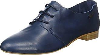Loisirs Ecco, Chaussures Richelieu Des Femmes De Laceup, Bleu (marine), 38 Eu
