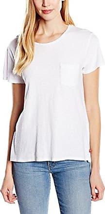 Levi's The Perfect Pocket tee, Camiseta para Mujer, Blanco (Corydalis Marshmallow Knit 70), X-Small