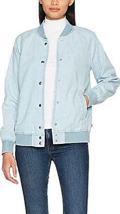 Great Plains Tropical Fauna Bomber Jacket, Chaqueta Bomber Mujer, Azul (Navy Blue/White), 14 (Manufacturer Size: Large)