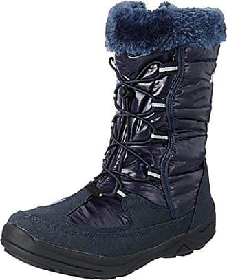 Saskia 710103 - Botas de nieve de nailon para mujer, Blanco, 36 Lico