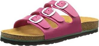 Lico Damen Bioline Shino Pantoletten, Pink (Rose), 38 EU