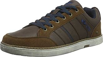 Mens Boston Low-Top Sneakers, Black Lico