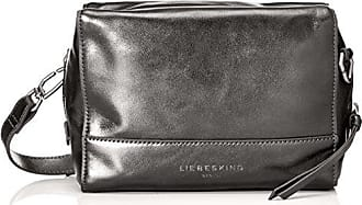 Hollywood Famecm, Womens Cross-Body Bag, Silber (French Grey Rock Gr.), 6x11x17 cm (B x H T) Liebeskind